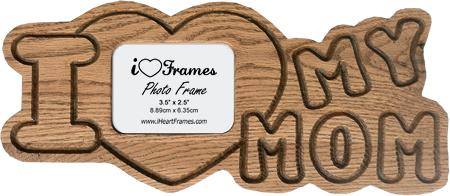 heart frames heart frame i love my mom - Mom Picture Frames