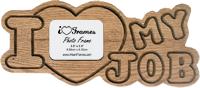 Heart Frame - I Love My Job