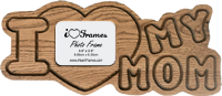 Heart Frame - I Love My Mom Finished