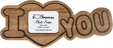 Heart Frame - I Love You